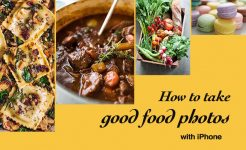How to do great food photography with iPhone