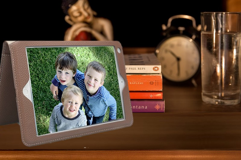 Using old iPad as a picture frame