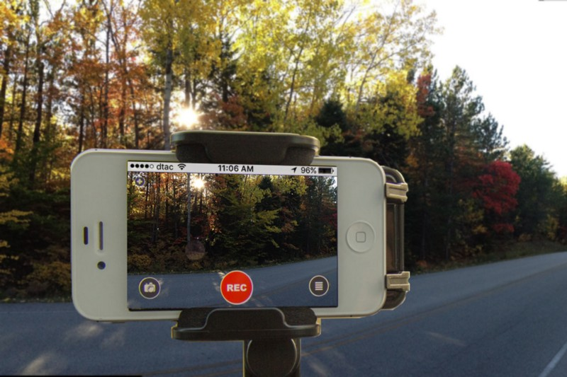 Using old iPhone as a dash cam