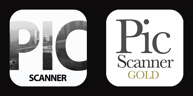 Pic Scanner and Pic Scanner Gold icons